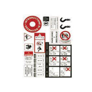 Etichette e adesivi