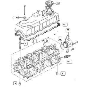 Testata motore